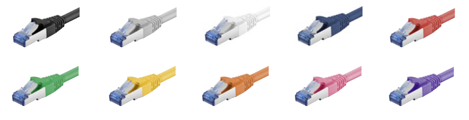 CABLES SFTP CAT6A COLORES